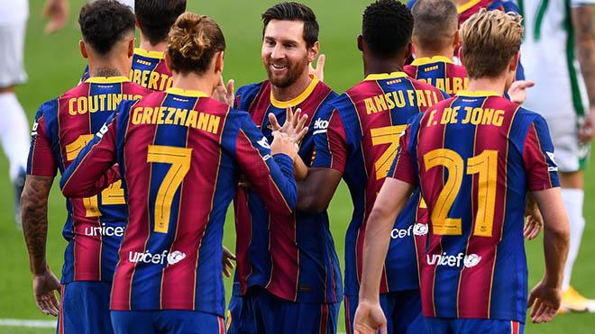 Barca tỏa sáng ở giải La Liga