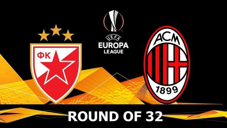Crvena Zvezda vs AC Milan