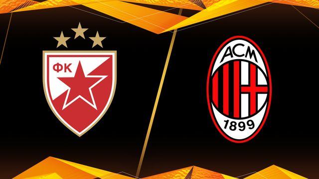 Hồi hộp trước trận gặp nhau giữa Crvena Zvezda vs AC Milan