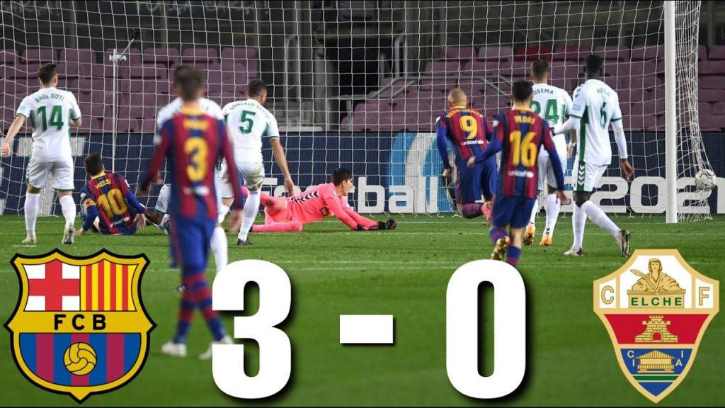Kết quả Barca vs Elche 3 - 0