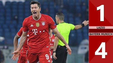 Lazio đấu với Bayern tỷ số 1 - 4