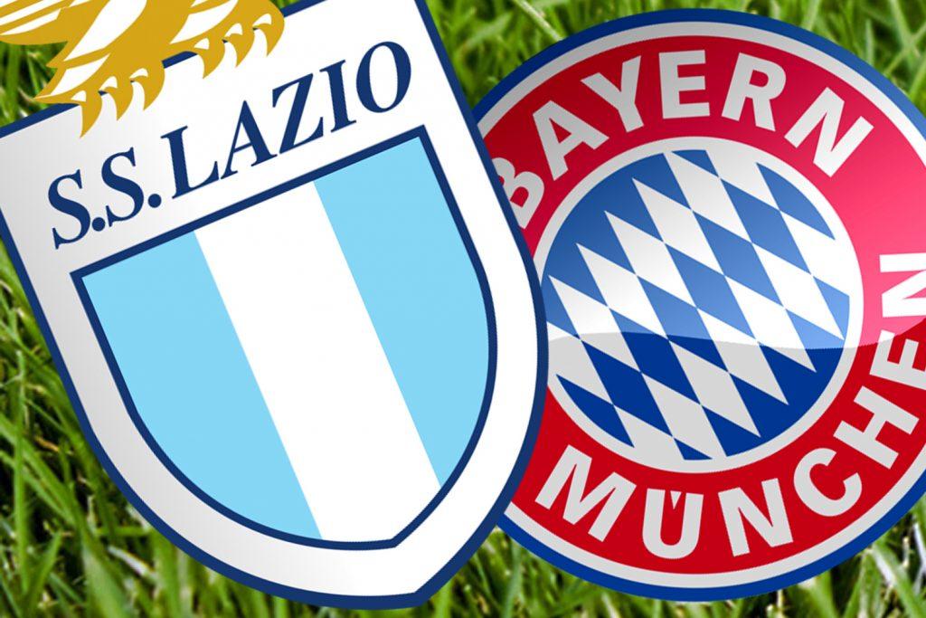 Lazio đấu với Bayern