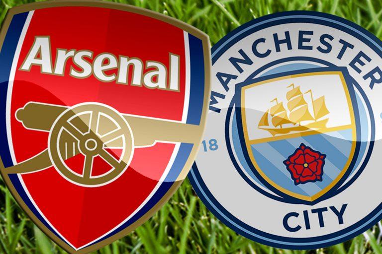 Màn đối đầu giữa Arsenal vs Man City