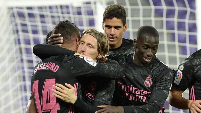 Real Madrid ăn mừng chiến thắng
