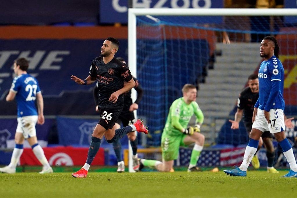 Trận Everton vs Man City với sức đấu khá chênh lệch