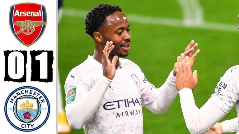 Tỷ số trận so tài giữa Arsenal vs Man City
