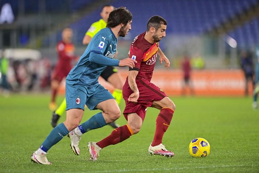 Cuốc so tài giữa Roma vs Milan diễn ra hấp dẫn