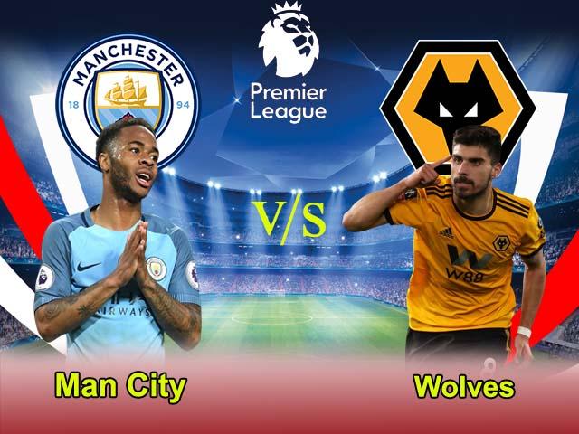 Man City vs Wolves 4-1