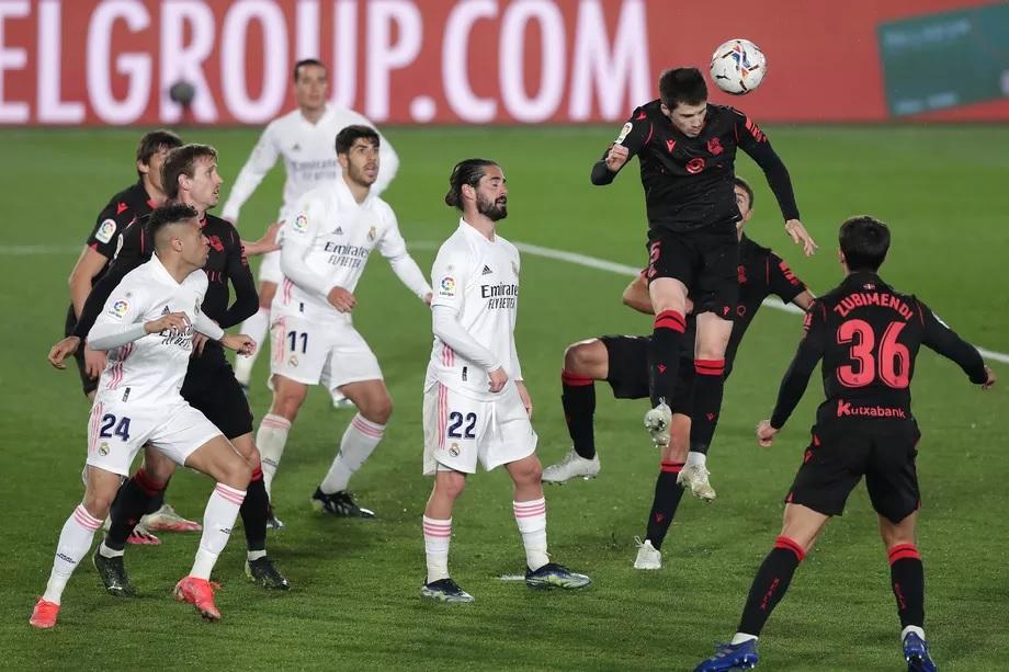 Real Madrid vs Sociedad hòa 1-1