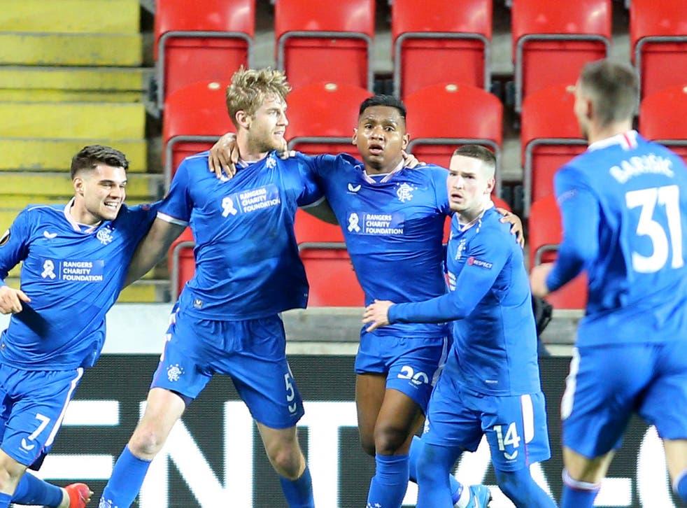 Slavia Praha vs Rangers 1-1