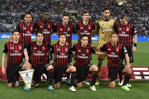 CLB AC Milan nằm trong top  10 CLB có Quỹ Lương cao nhất Seri A
