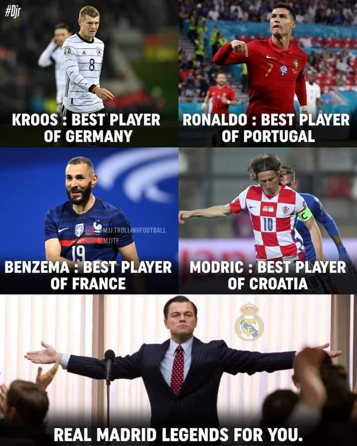 Meme các ngôi sao bóng đá tại Euro 2020
