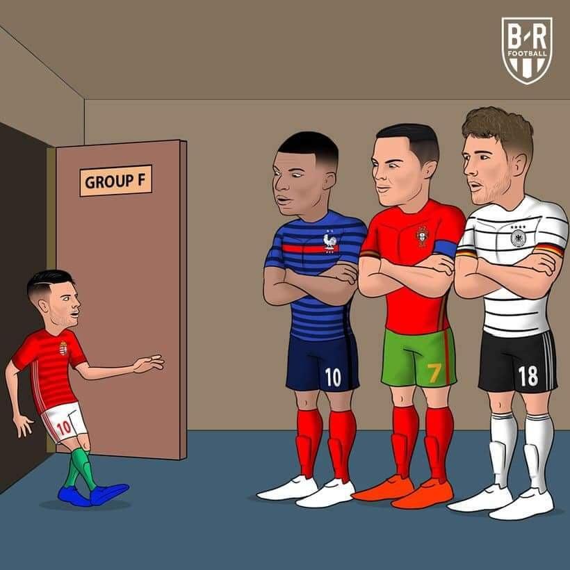 meme bóng đá euro 2021