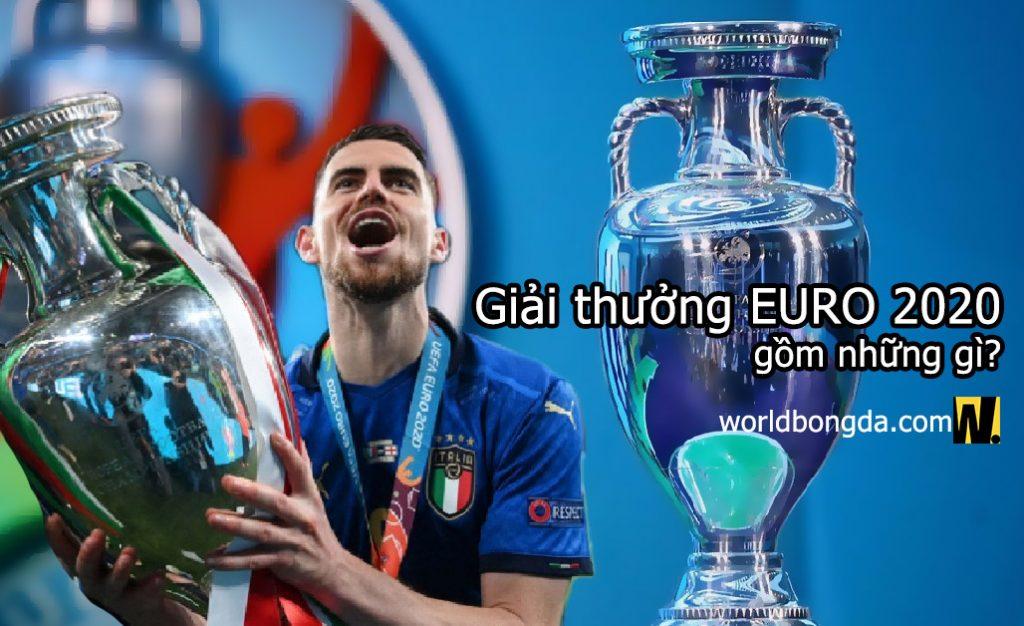 Giải thưởng Euro 2020 gồm những giải gì?